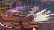 Ataque de recuperación en el borde Mewtwo (2) SSB4 (Wii U).JPG