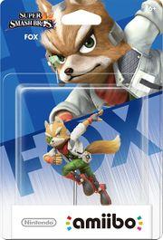 Embalaje del amiibo de Fox (América).jpg