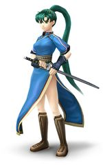Art oficial de Lyn en Super Smash Bros. Brawl