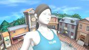 Entrenadora de Wii Fit en Sobrevolando el pueblo SSBU.jpg