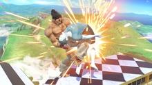 Kazuya usando Gates of Hell en Super Smash Bros. Ultimate