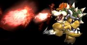 Bowser usando Aliento de fuego en el aire SSBB.png