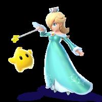 Art Oficial de Estela y Destello en Super Smash Bros. para Nintendo 3DS y Wii U.