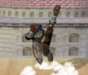 Ataque Smash hacia arriba de Ganondorf (2) SSBM.png