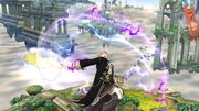 Ataque aéreo hacia arriba Robin SSB4 (Wii U).JPG
