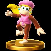 Trofeo de Dixie Kong SSB4 (Wii U).png