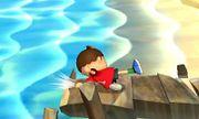 Ataque de recuperación desde el borde Aldeano SSB4 (3DS).jpg