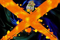 Vista previa de Pintura de Mario oscuro/Mario Paint Oscuro en la sección de Técnicas de Super Smash Bros. Ultimate