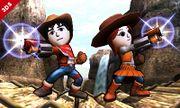Dos Miis Lanzadores en el Valle Gerudo SSB4 (3DS).jpg