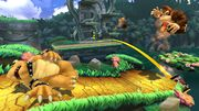 Bowser y Donkey Kong en la Jungla escandalosa SSB4 (Wii U).jpg