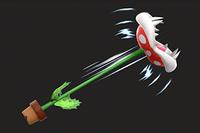 ista previa del Tallo elástico en la sección de Técnicas de Super Smash Bros. Ultimate