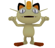 Pose T Meowth SSB4 (Wii U).png