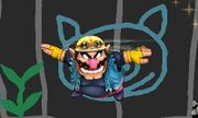 Ataque aéreo normal de Wario (2) SSB4 (3DS).JPG