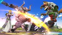 Zelda viendo a Fox ser atacado por un Espectro SSB4 (Wii U).jpg