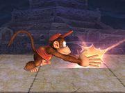 Ataque fuerte inferior Diddy Kong SSBB.jpg