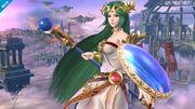 Palutena en el Campo de Batalla SSB4 (Wii U).jpg