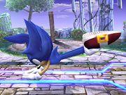 Ataque fuerte lateral Sonic SSBB.jpg