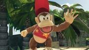 Diddy Kong en Cascada Kongo SSBU.jpg
