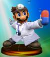 Trofeo de Dr. Mario (Smash 1) SSBM.png