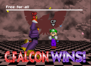 Pose de victoria de Captain Falcon (2-1) SSB.png