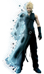 Art oficial de Cloud en Final Fantasy VII Advent Children.png