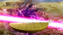Palutena usando su Smash Final en Super Smash Bros. para Wii U