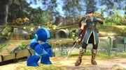 Marth después de haber usado Rompeescudos contra Mega Man SSB4 (Wii U).jpg