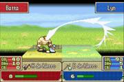 Lyn golpe crítico Fire Emblem 7.png