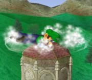 Ataque Smash hacia abajo de Luigi (2) SSBM.png