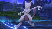 Burla hacia abajo Mewtwo (2) SSB4 (Wii U).JPG