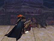Ataque fuerte inferior Ganondorf SSBB.jpg