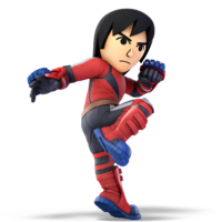 Art oficial del Karateka Mii en Super Smash Bros. Ultimate