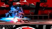 Ataque fuerte hacia abajo de Joker+Arsene (1) Super Smash Bros. Ultimate.jpg