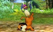 Ataque fuerte superior de Dúo Duck Hunt SSB4 (3DS).jpg