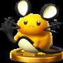 Trofeo de Dedenne SSB4 (Wii U).png