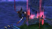 Ataque Aéreo Hacia Abajo Bayonetta SSB Wii U.jpg