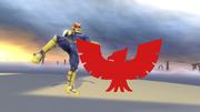 Pose de victoria de Captain Falcon (1-1) SSB4 (Wii U).png
