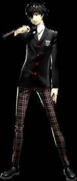 Art oficial de Ren Amamiya en Persona 5
