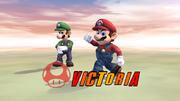 Pose de victoria hacia abajo (3) Mario SSBB.png