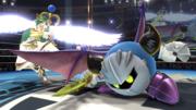 Palutena junto a Meta Knight en el Ring de Boxeo SSB4 (Wii U).png