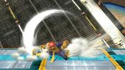 Ataque de recuperación boca abajo de Captain Falcon (2) SSB4 (Wii U).png