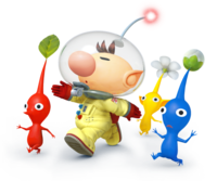 Art oficial de Olimar en Super Smash Bros. for Nintendo 3DS / Wii U