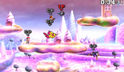 Flying Men haciendo una plancha voladorea en Magicant en SSB4 (3DS).png