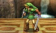 Pose de espera Link SSB4 (3DS) (2).JPG