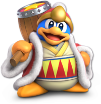 Art oficial del Rey Dedede en Super Smash Bros. Ultimate
