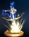 Trofeo de Flecha de Luz (Sheik) SSBB.png