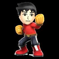 Art oficial del Karateka Mii en Super Smash Bros. for Nintendo 3DS / Wii U