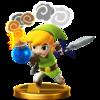 Trofeo de Toon Link (alt.) SSB4 (Wii U).png