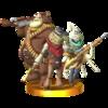 Trofeo de Gallo, Boone y Nomad SSB4 (3DS).png