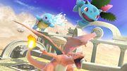 Squirtle, Ivysaur y Charizard en el Reino del Cielo SSBU.jpg